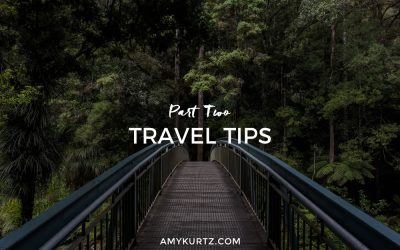 Travel Tips, Part Two
